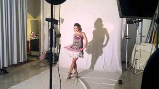 Baskstage shooting per Alice Bellagamba